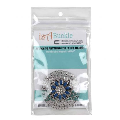 isABling Blue stone Interchangeable Magnetic Accessory(Main )